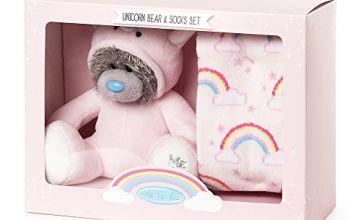 Me to You Me to You Unicorn Onesie Bear and Socks Gift Set