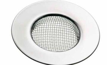 KitchenCraft Stainless Steel Sink Strainer, 7.5cm