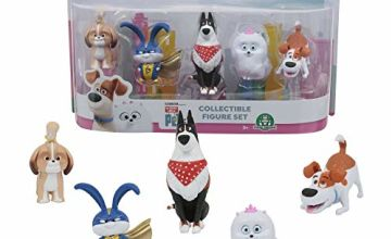 Mascotas 2 ECE03000 Secret Life of Pets 2 Blister Pack of 5 Jointed Figures