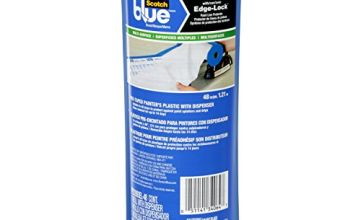 ScotchBlue PTD2093EL-48-S Pre-Taped Painter's Plastic, Unfolds to 48-Inches by 30-Yard, quot x