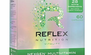Save on Reflex Nutrition Nexgen Daily Multi Vitamins Inc Magnesium Vitamin D3 (60 Caps) (Month Supply) and more