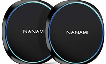 NANAMI Fast Wireless Charger, [2 Pack] 7.5W Qi-Certified Wireless Charging Pad for iPhone 11/11 Pro/11 Pro Max/XS Max/XS/XR/X/8/8 Plus/New Airpods,10W Compatible Samsung S20/S10 /S9/S8/S7/Note 10/9/8
