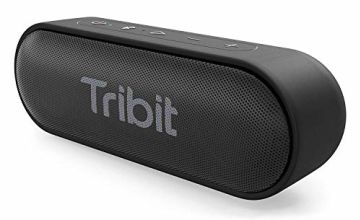 Bluetooth Speaker, Tribit XSound Go 12W Portable Speakers Loud Stereo Sound, IPX7 Waterproof, Rich Bass, 24 Hour Playtime, 20M Bluetooth Range Outdoor Party Wireless Speaker-The Telegraph's Choice