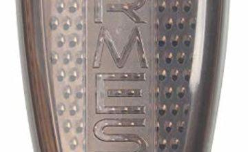 Fackelmann Plastic/Stainless Steel Parmesan Grater with Storage Box, Transparent/Black/Silver, 19 x 9.5 x 7 cm