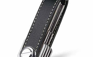 flintronic® Key Organizer | Portable Keychain | Pocket Smart Key Holder with Gift Boxed Stylish, Functional & Practical (Holds 10-12 Multiple Keys)