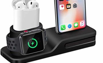 Grandwill 3 in 1 Charging Station Premium Silicone Charger D