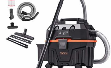 TACKLIFE Wet and Dry Vacuum Cleaner, 1200W 15L Bagless Wet Dry Vac Cleaner with Powerful Suction Suitable for Indoor and Outdoor Use Wet/Dry/Blowing 3 in 1 Function Not Include Carpet Brush-PVC01B