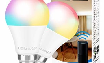 LE WiFi Smart Bulb B22, Work with Alexa, Google Assistant and IFTTT
