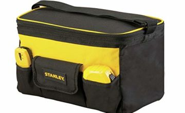 Stanley STST1-73615 Tool Bag with Belt, Black/Yellow