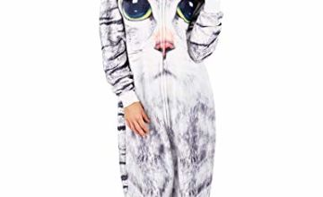 Womens Onesies Unisex Cosplay Costume Girls Women Pyjamas Jumpsuit Unicorn Koala Penguin Cat Pug Dragon Adult Costumes
