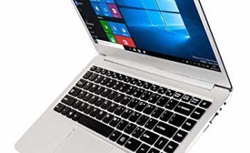 14 inch Laptop (Intel x5-E8000 64-bit, 4GB DDR3 RAM, 64GB SSD, Dual 4500mAH battery, HD webcam, Windows 10 OS, 1366 * 768 FHD IPS display) Notebook