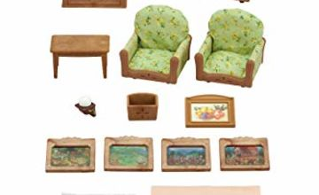 EPOCH Dream Meadow GmbH 5287Sylvanian Families living and TV Set