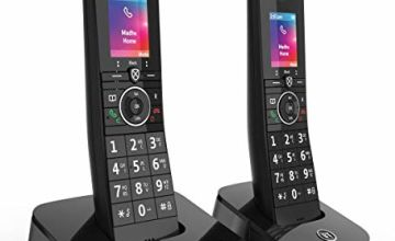 Save on BT Premium Cordless Home Phone with 100% Nuisance Call Blocking, Mobile sync and Answering Machine, Twin Handset Pack and more