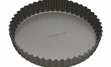 "MasterClass Non-Stick Fluted Flan Tin / Quiche Pan with Loose Base, 25 cm (10"")"