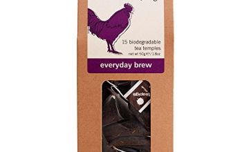 Teapigs Everyday Brew Black Tea Bags Made With Whole Leaves (1 Pack of 15 Tea Bags)