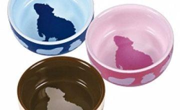 Torx 60732Ceramic Bowl for Guinea Pigs 250ml 11cm, color assorted