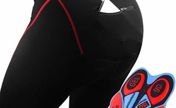 GRAT.UNIC Men's Sports Cycling Shorts,Cycle Wear Tights,9D Sponge Padded Road Bike Shorts, Breathable Quick Dry Bicycle Shorts