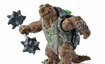 Schleich 42496 Armoured Turtle with Weapon Figure