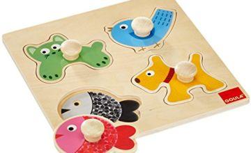 Goula 53116 Wooden Pet Animal Puzzle