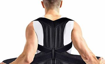 Back Posture Corrector, Shoulder Posture Correction - MS.DEAR Adjustable Full Back & Shoulder Support