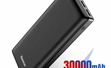 Baseus Power Bank, Portable Charger 30000mAh USB C PD Fast Charging for iPhone, iPad, Mac, Samsung, Huawei and More