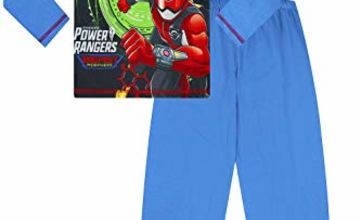 Boys Power Rangers Beast Morpher Long Pyjamas 4 to 10 Years