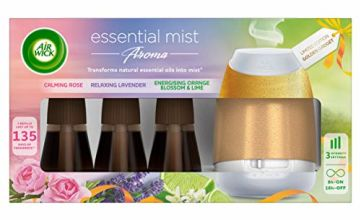 Air Wick Gold Essential Mist with Essential Oils Kit Gift Pack