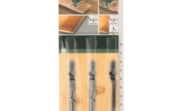 Bosch 2609256788 Jigsaw Blade Sets for Special for Laminate with Single Lug Shank (3 Pieces)