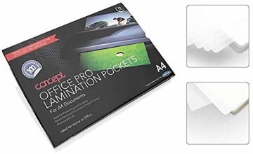 Premier Stationery A4 Laminating Pouch. 150 Micron. Pack of 100