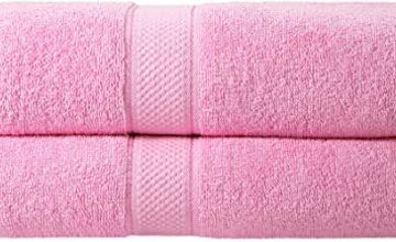 Todd Linens Solid Towel Gift Set – 500 GSM 100% Cotton