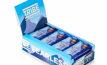 Save on TRIBE Nutrition Infinity Natural Vegan Energy Bars, Gluten and Dairy Free, Choc Salt Caramel Flavour - 50g (Pack of 16) and more