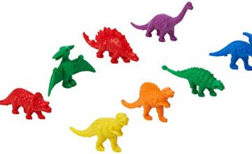 Dinosaur Counters Model (Pack of 128)