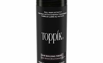 Save on Toppik Hair Fibers, 27.5 g, Dark Brown and more