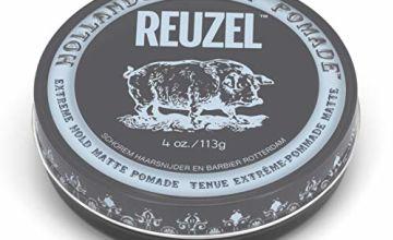 Reuzel Extreme Hold Matte Pomade 1 pack (1 x 113 g)