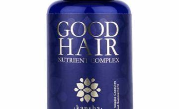 Hair Growth Vitamins with Biotin, DHT Blocker + 30 Other Minerals, Herbs, Fights Hair Loss in Men & Women - Healthier Hair, Skin & Nails
