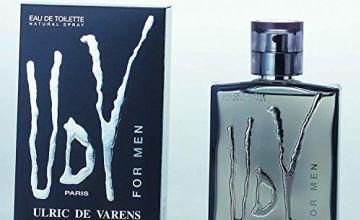 Urlic De Varens- Eau de Toilette for Men Cologne , 100 ml