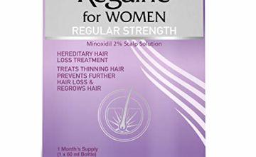 Regaine for Women Regular Strength 2 Percent Minoxidil, 60 ml