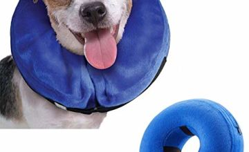 Emwel Inflatable Pet Protection Cover Washable Protective Collar for Small dog and Cat - Small