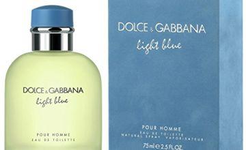 Dolce & Gabbana Light Blue Pour Homme Eau de Toilette spray 75 ml