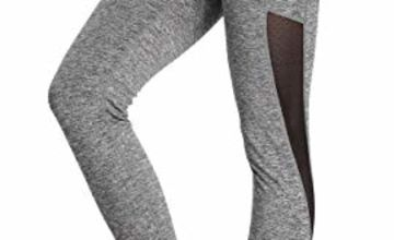 Eono Essentials Women's Mesh Yoga Pants