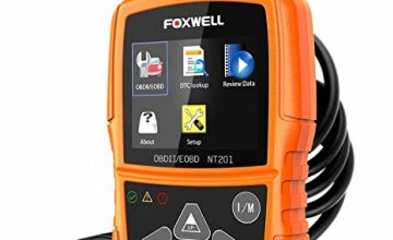 FOXWELL NT201 OBD2 Reader Car Diagnostic OBD II Scanner Check Engine Light Fault Code Reader Auto Diagnostic Scan Tool