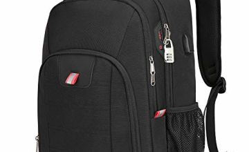 zhi wei Laptop Backpack Extra Large Rucksack Bag Anti-Theft Computer Rucksack with USB Charging Port