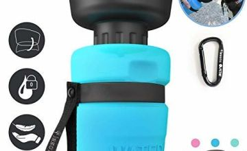 lesotc Dog Water Bottles, Dog Water Bottles Travel, Portable Dog Water Bottle, BPA Free 520ml