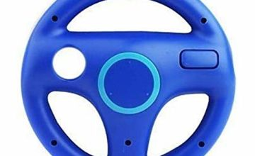 TheMax Wheel Steering wii Controller Design Stand Mario Kart Racing Game Steering Wheel Stand For Wii Game Controller