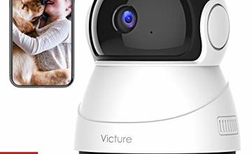 Victure 1080P FHD WiFi IP Camera Baby Monitor with Night Vision Motion Detection 2-Way Audio