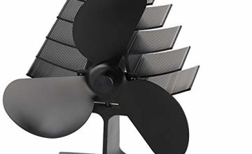 The Three Musketeers Heat Powered Wood Stove Fans 3 Blades A