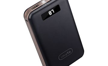 imuto Portable Charger External Battery Power Bank with Smart Digital LED Display …