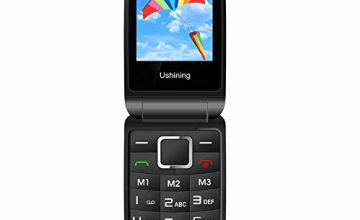 3G Sim Free Senior Mobile Phone Unlocked,GSM Flip Mobile Phone, Big Button Loud Speaker Easy to Use for Elderly
