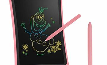 NEWYES Colourful LCD Writing Tablet , 8.5 Inch Writing Pad Drawing Tablets Electronic Drawing Board Great for Kids Office Family