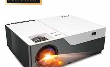 """Full HD Projector Artlii Native 1080P Projector 300"""" Display 5000:1 Contrast LED Video Projector with Zoom for PowerPoint Home Theater and Schooling"""